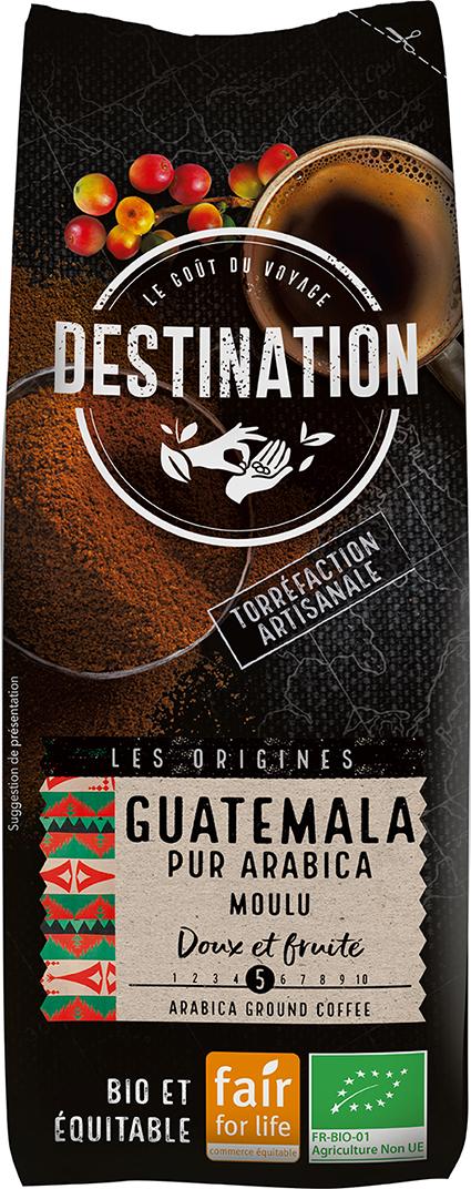 Bio káva mletá Guatemala Destination 250 g