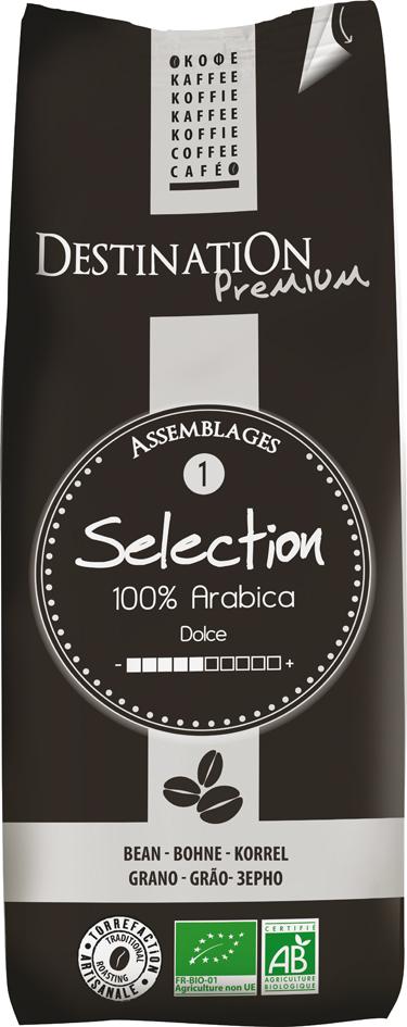 Bio káva zrnková Selection 250 g