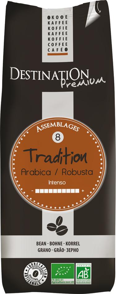 Bio káva zrnková Tradition 250 g