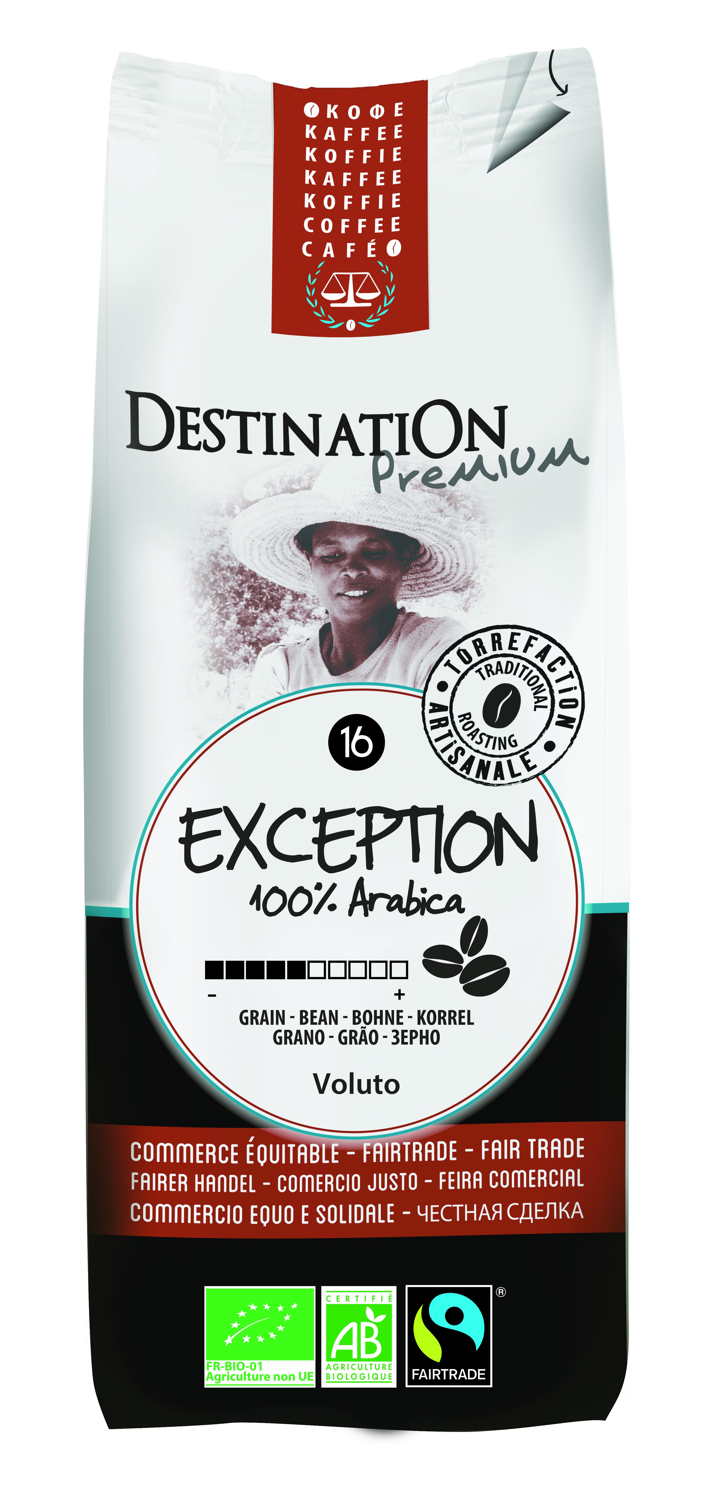 Bio káva mletá Exception 250 g