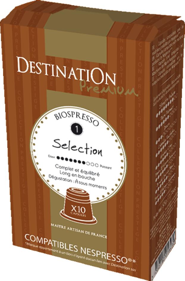 Bio kávové kapsle Selection 10 ks