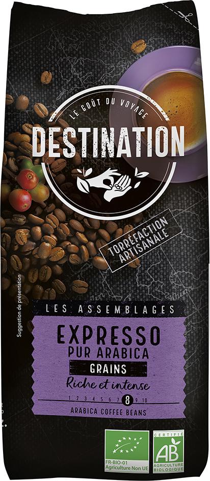 Bio káva zrnková Espresso Destination 500 g