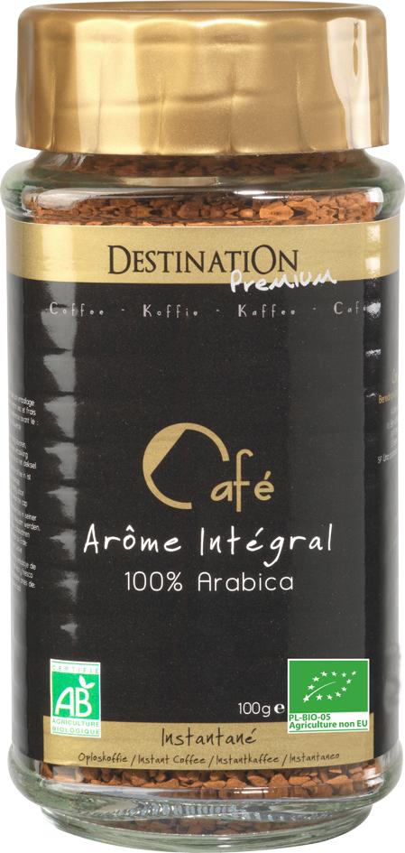 Bio instantní káva 100% arabika 100 g