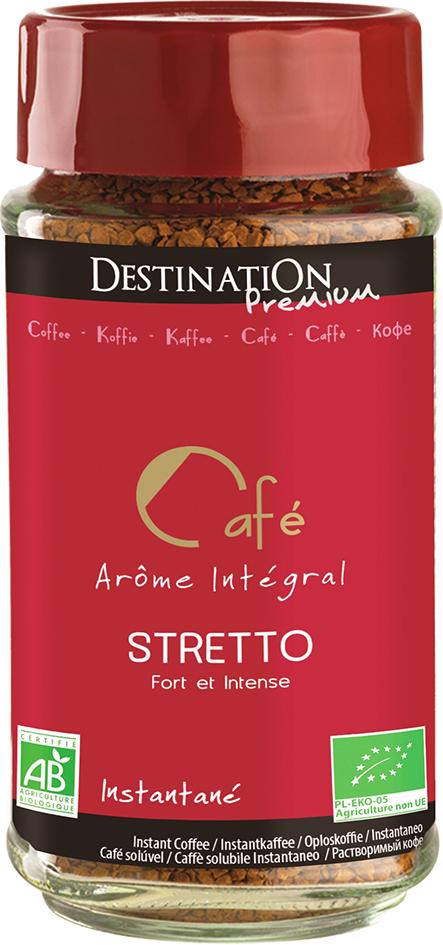 Bio instantní káva Stretto 100 g
