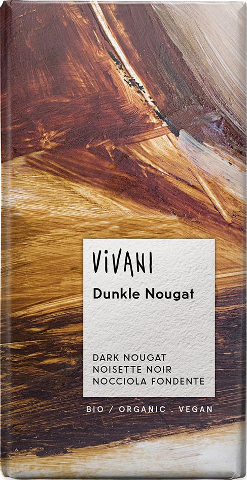 Bio čokoláda hořká nugátová VIVANI 100 g