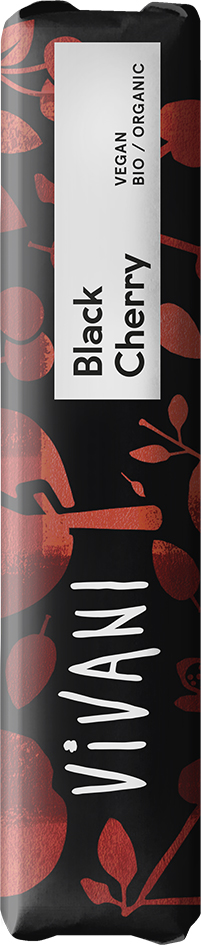 Bio hořká čoko tyčinka s višněmi VIVANI 35 g