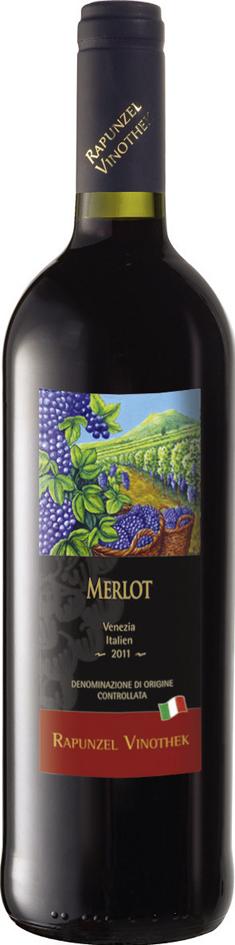 Bio Merlot DOC Venezia červené 0,75 l