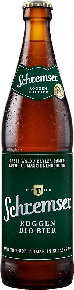 Bio žitné pivo SCHREMSER 500 ml