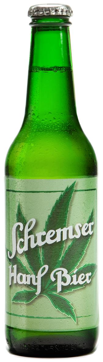 Konopné pivo SCHREMSER 330 ml