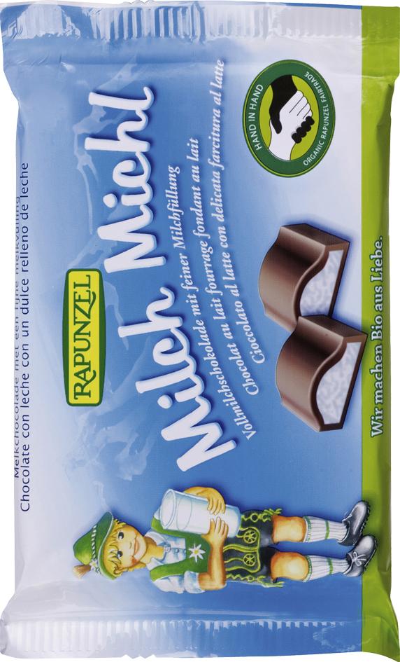 Bio mléčná čokoláda Milch Michl RAPUNZEL 100 g