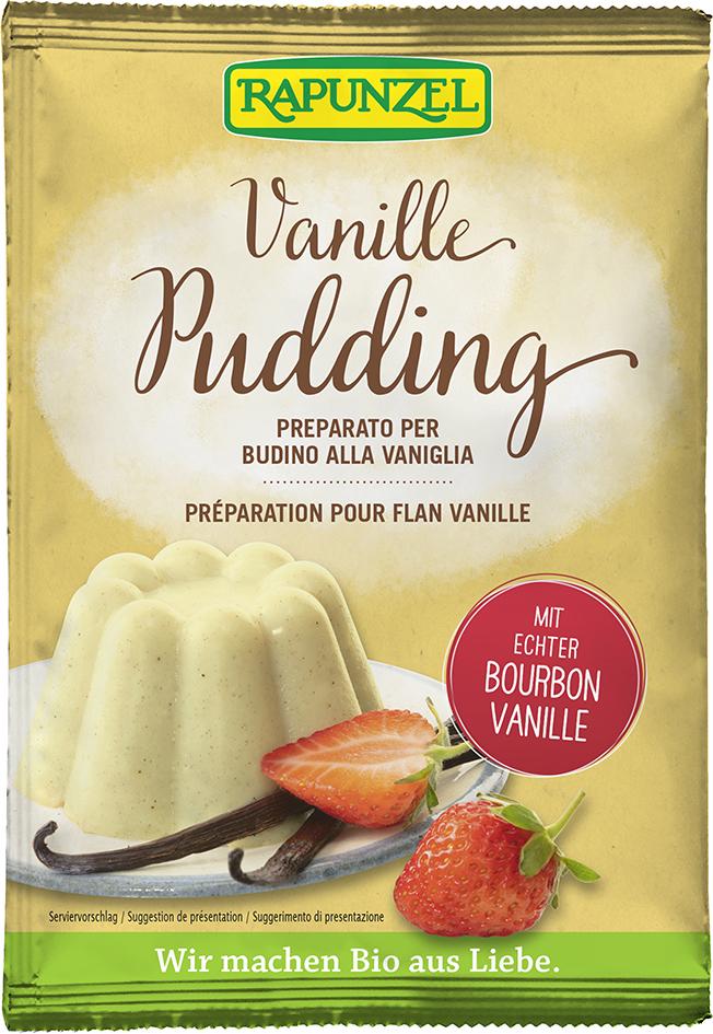 Bio pudinkový prášek vanilkový RAPUNZEL 40 g