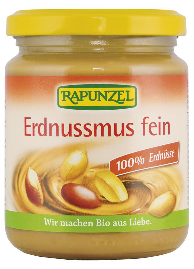 Bio 100% arašídová pasta jemná 250 g