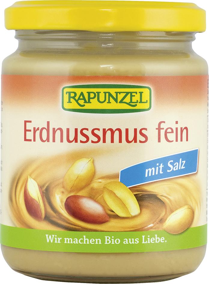 Bio arašídová pasta jemná se solí 250 g