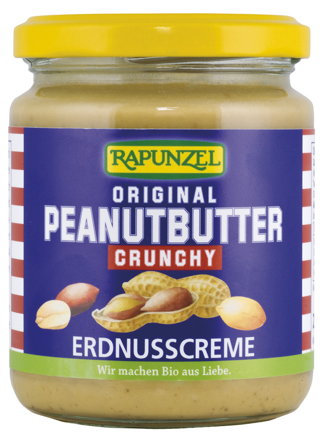 Bio arašídová pomazánka křupavá 250 g