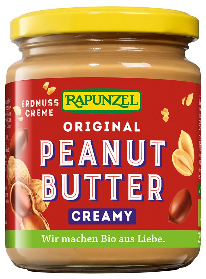 Bio arašídová pomazánka jemná RAPUNZEL 250 g