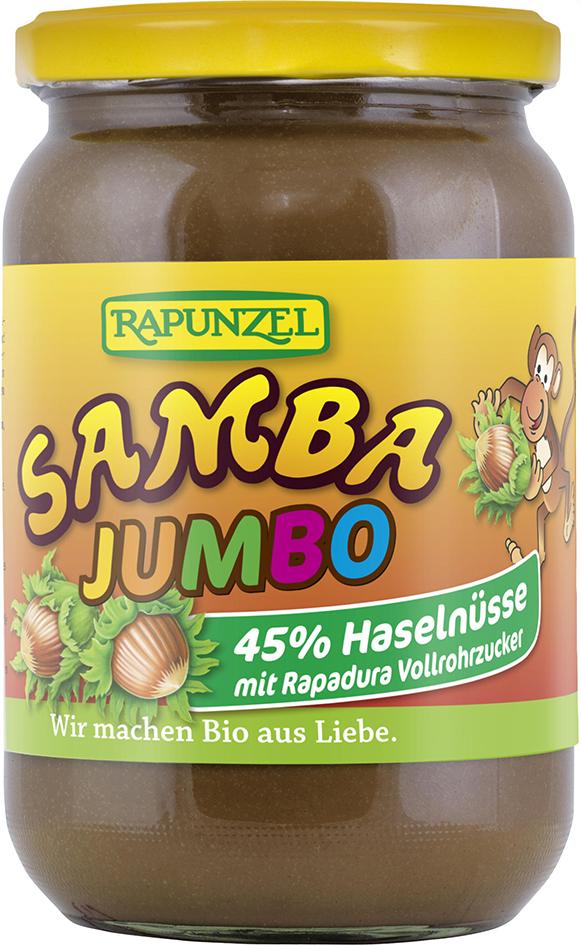 Bio jumbo SAMBA: oříšková pomazánka 750 g