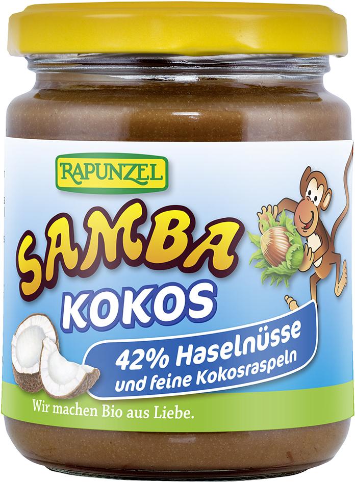Bio SAMBA KOKOS: oříšková pomazánka RAPUNZEL 250 g