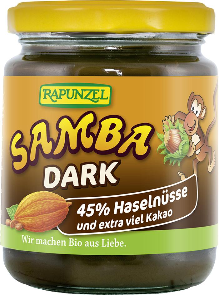 Bio SAMBA DARK: oříšková pomazánka 250 g