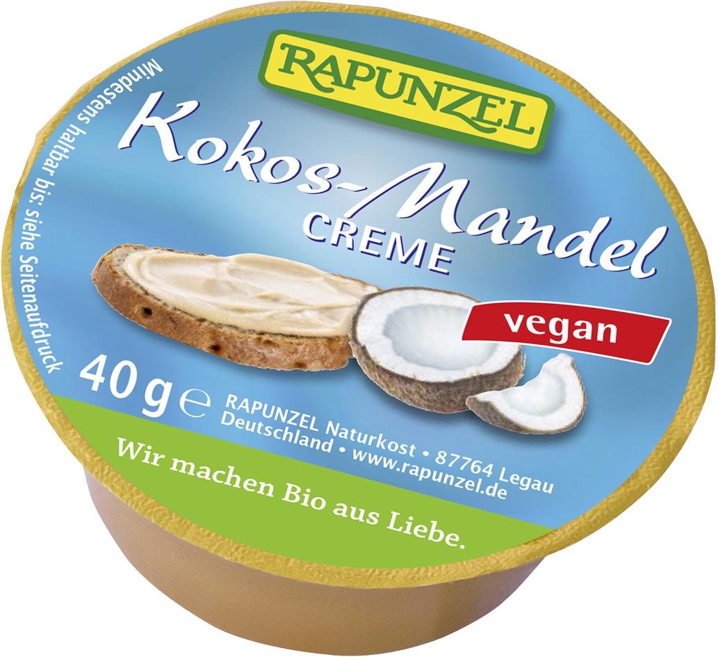 Bio mini kokosovo-mandlový vegan krém 40 g