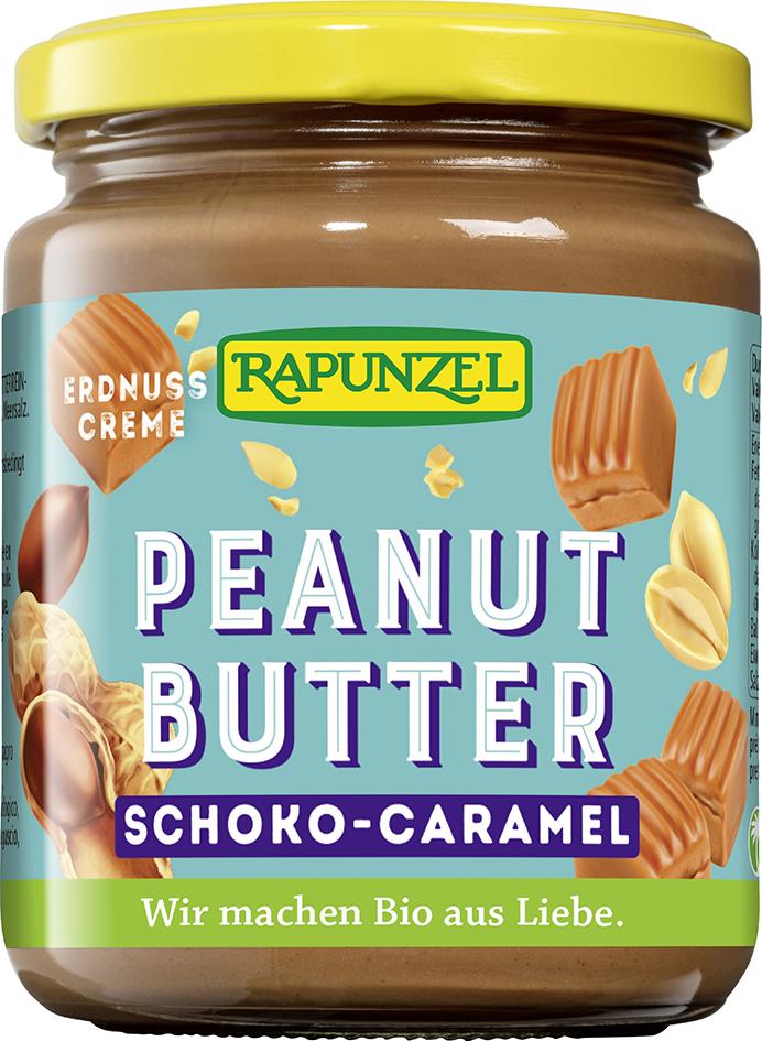 Bio arašídovo-karamelová pomazánka RAPUNZEL 250 g