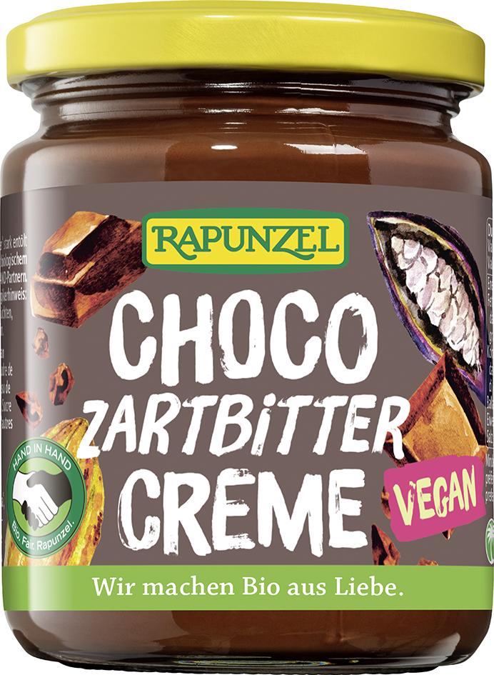 Bio CHOCO: čokoládová pomazánka RAPUNZEL 250 g
