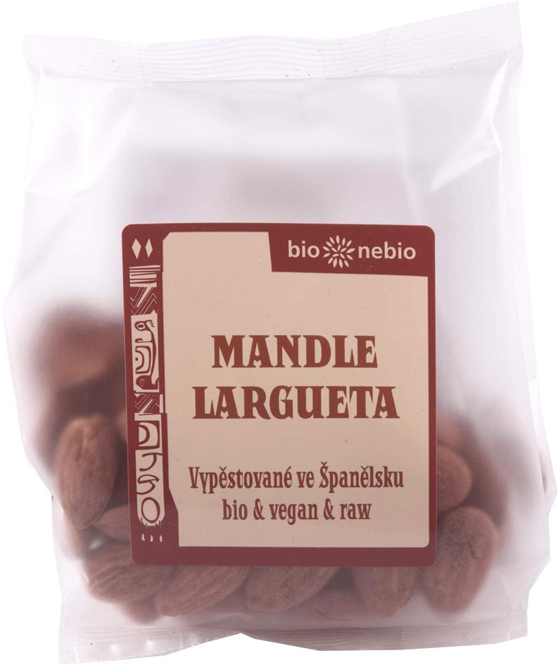 Bio mandle LARGUETA 100 g