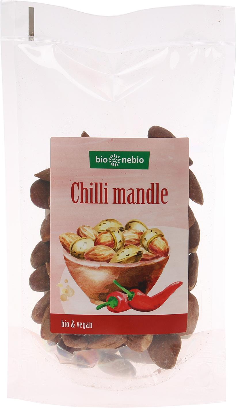 Bio chilli mandle pražené bio*nebio 100 g