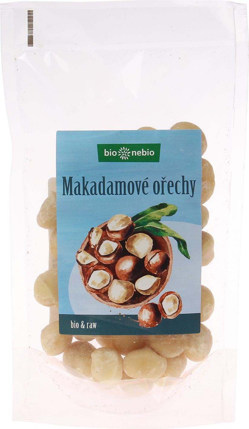 Bio makadamové ořechy bio*nebio 100 g