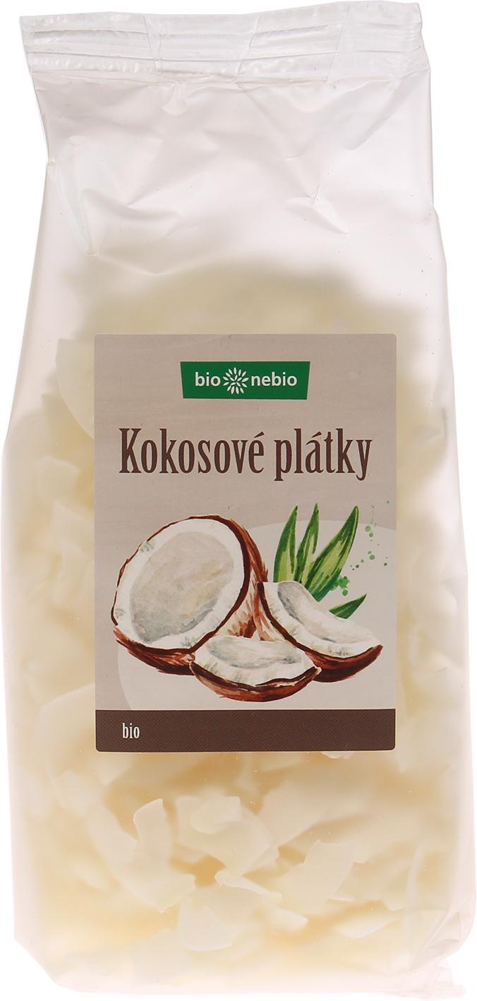 Bio kokosové plátky bio*nebio 150 g