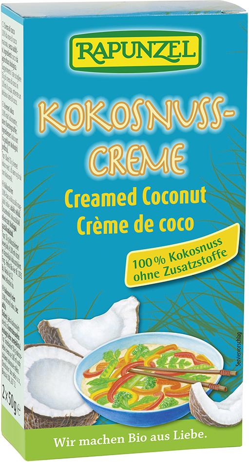 Bio kokosový krém 2 x 50 g