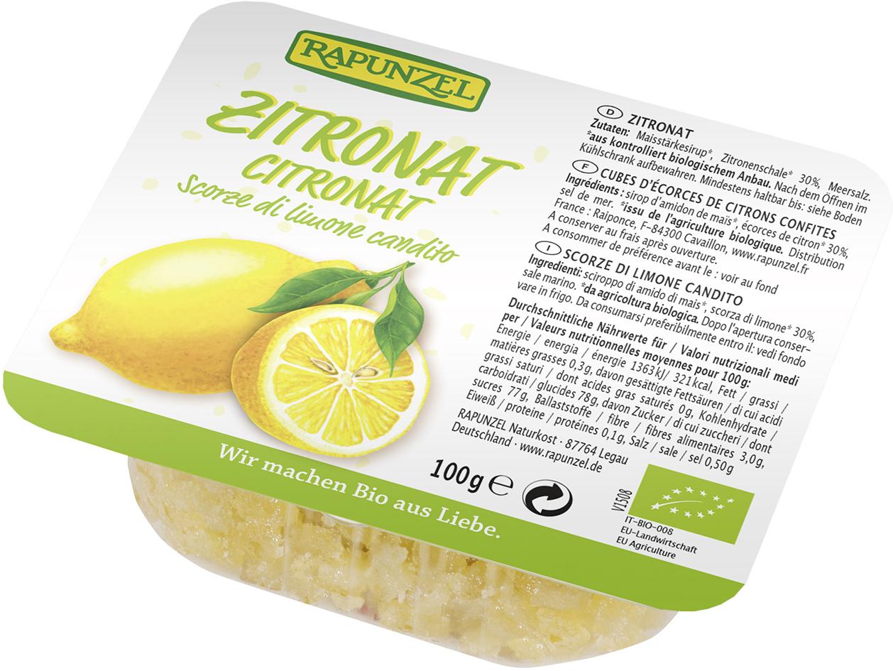 Kůra citronová kandovaná 100g
