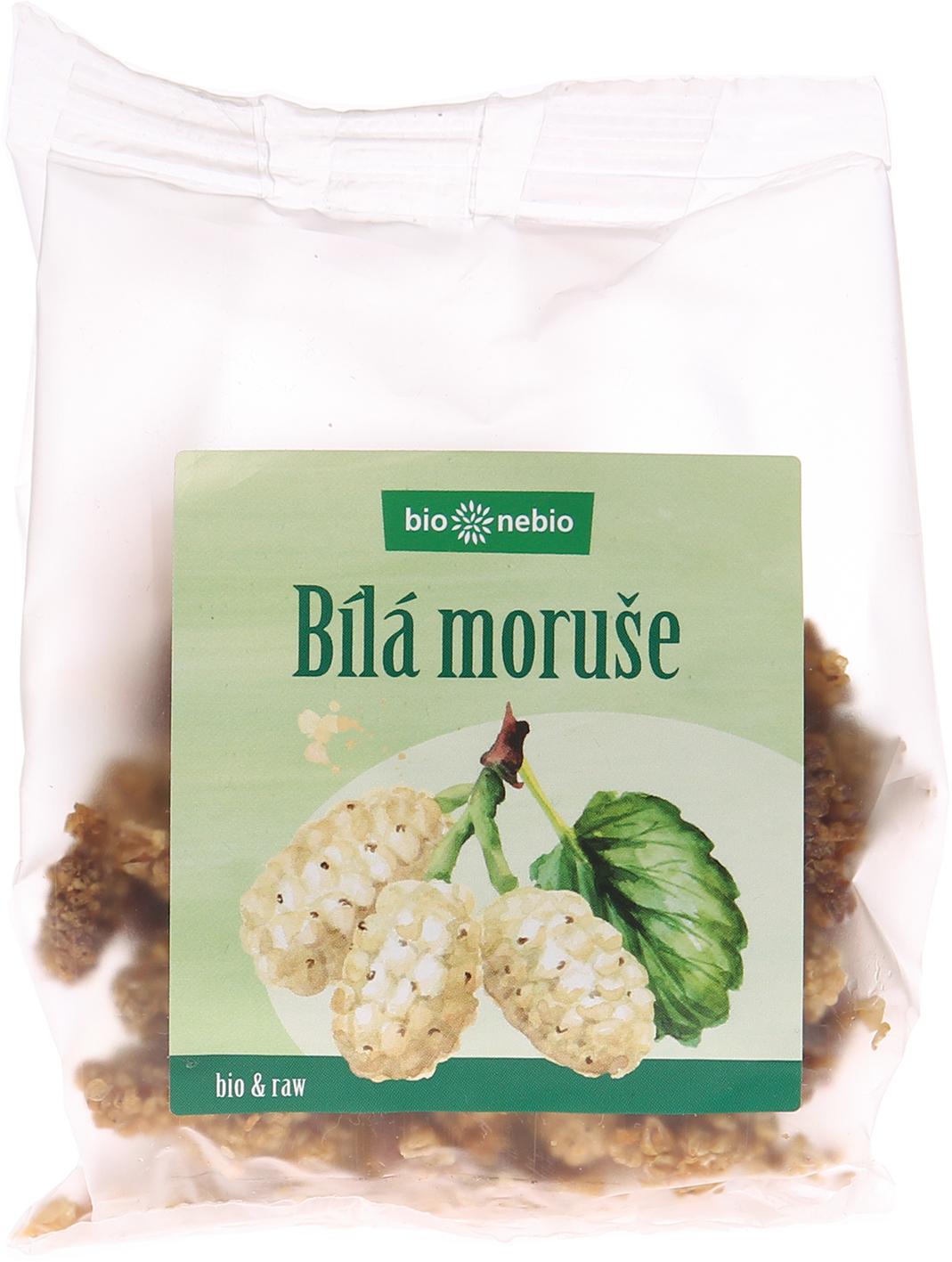 Bio sušená moruše bílá bio*nebio 100 g