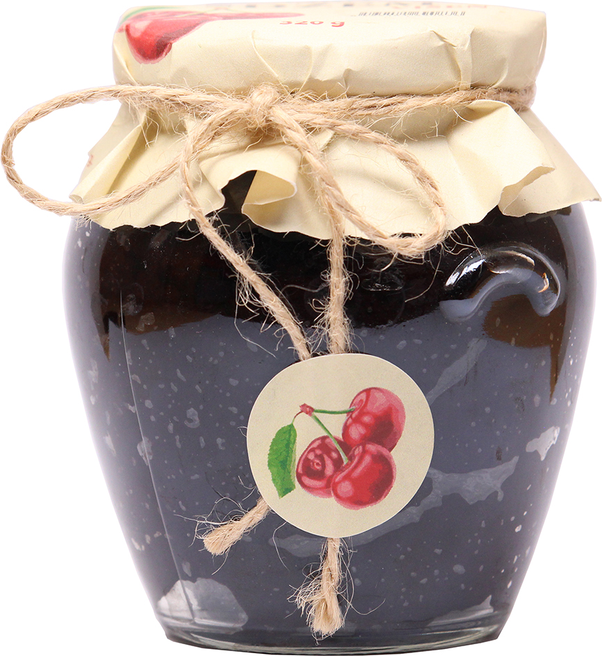 Bio višňový džem slazený Biofarma Juré 320 g