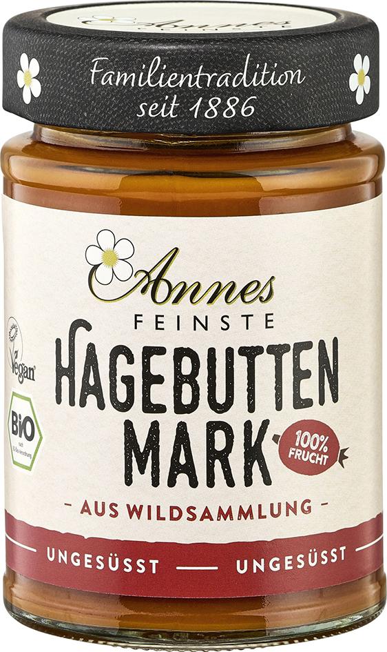Bio šípkové pyré 100% Annes Feinste 190 g