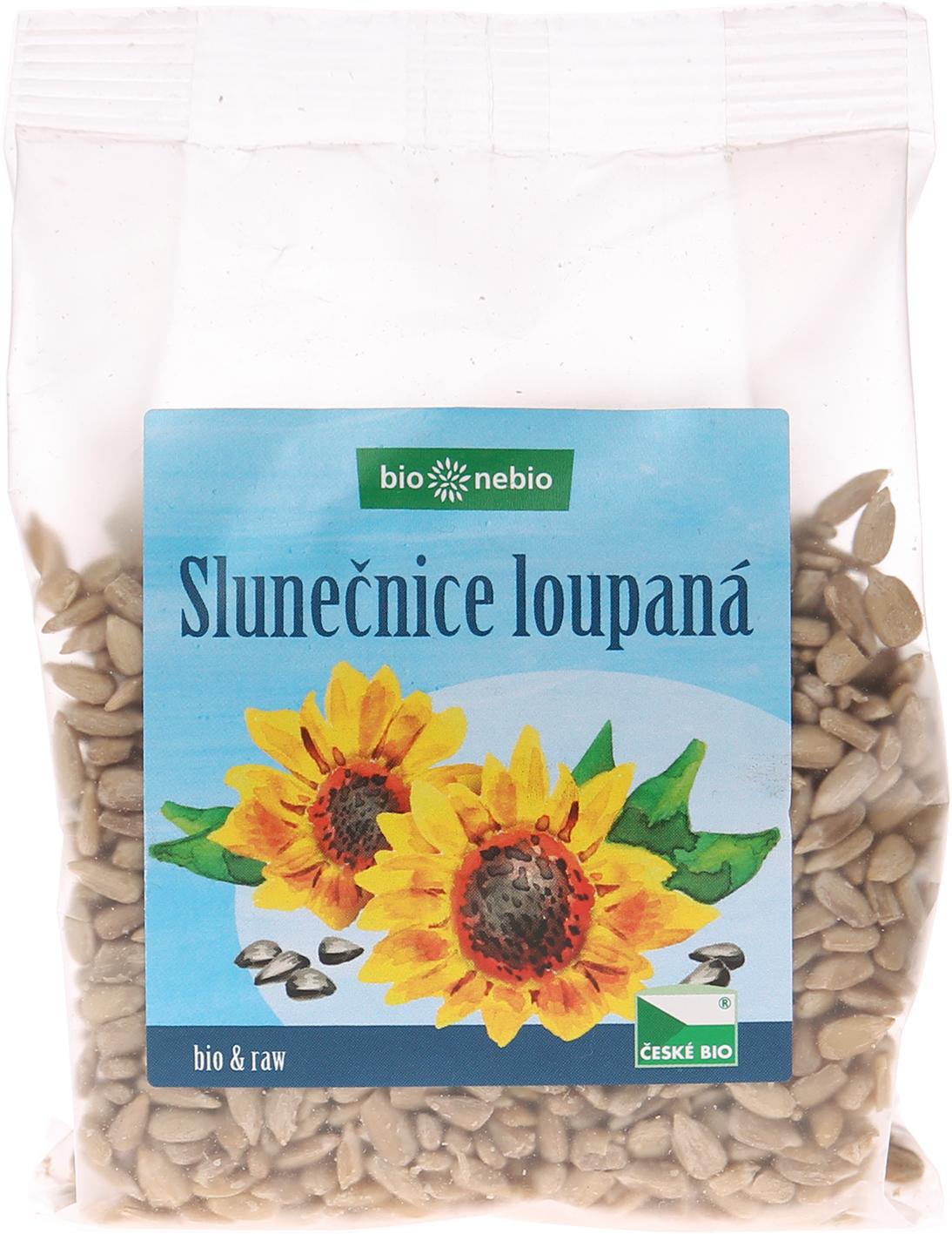 Bio slunečnicové semínko ČESKÉ BIO 150 g