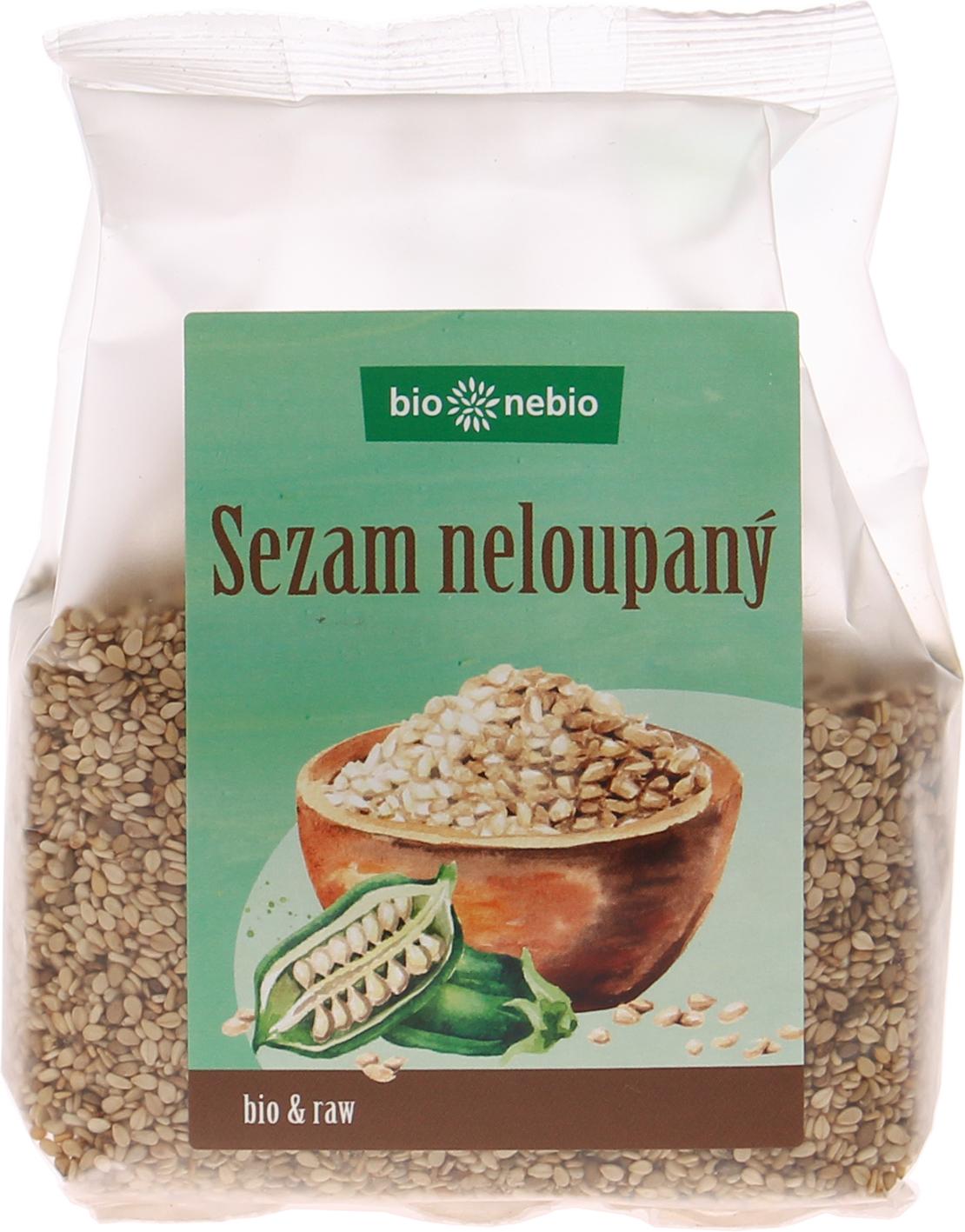 Bio sezam neloupaný bio*nebio 200 g