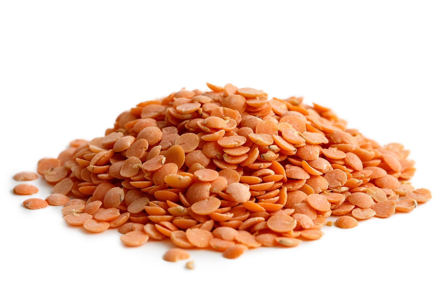 Bio červená čočka půlená bio*nebio 2,5 kg