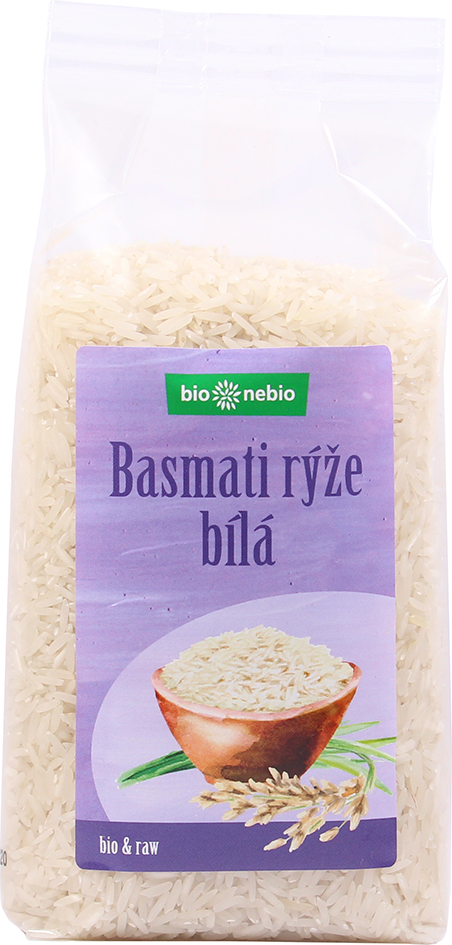 Bio rýže basmati bílá bio*nebio 500 g