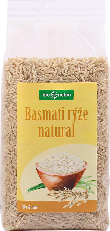 Bio rýže basmati natural bio*nebio 500 g