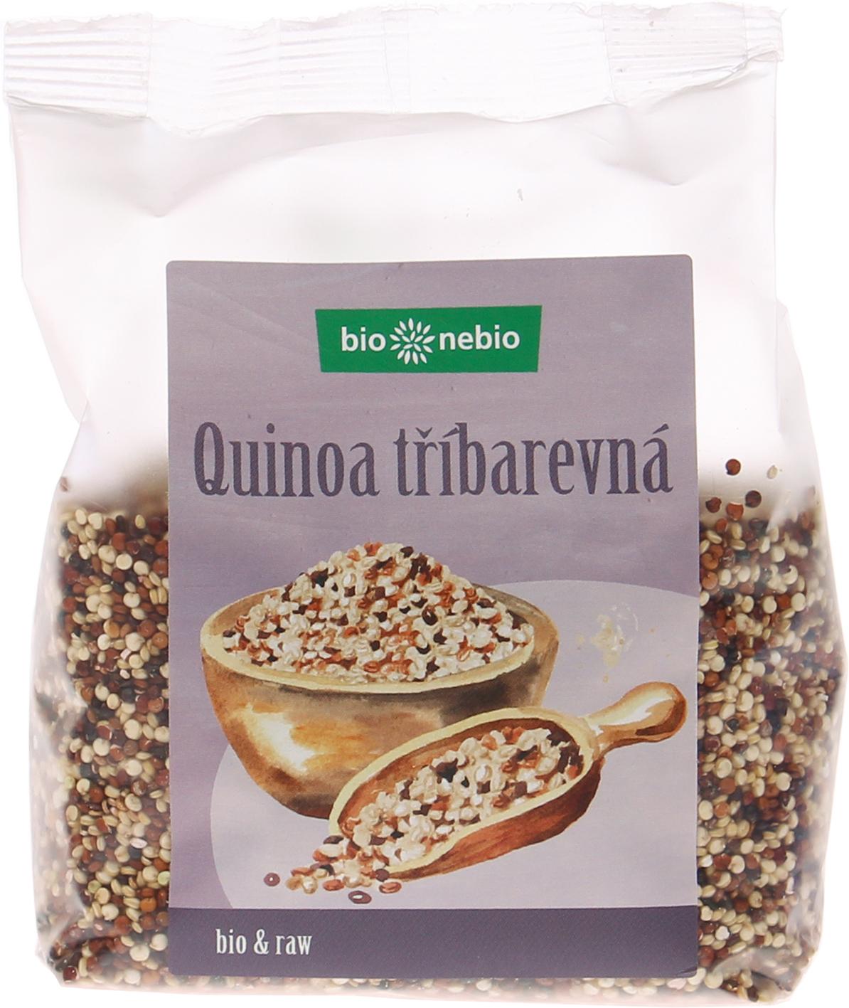 Bio quinoa barevná bio*nebio 250 g