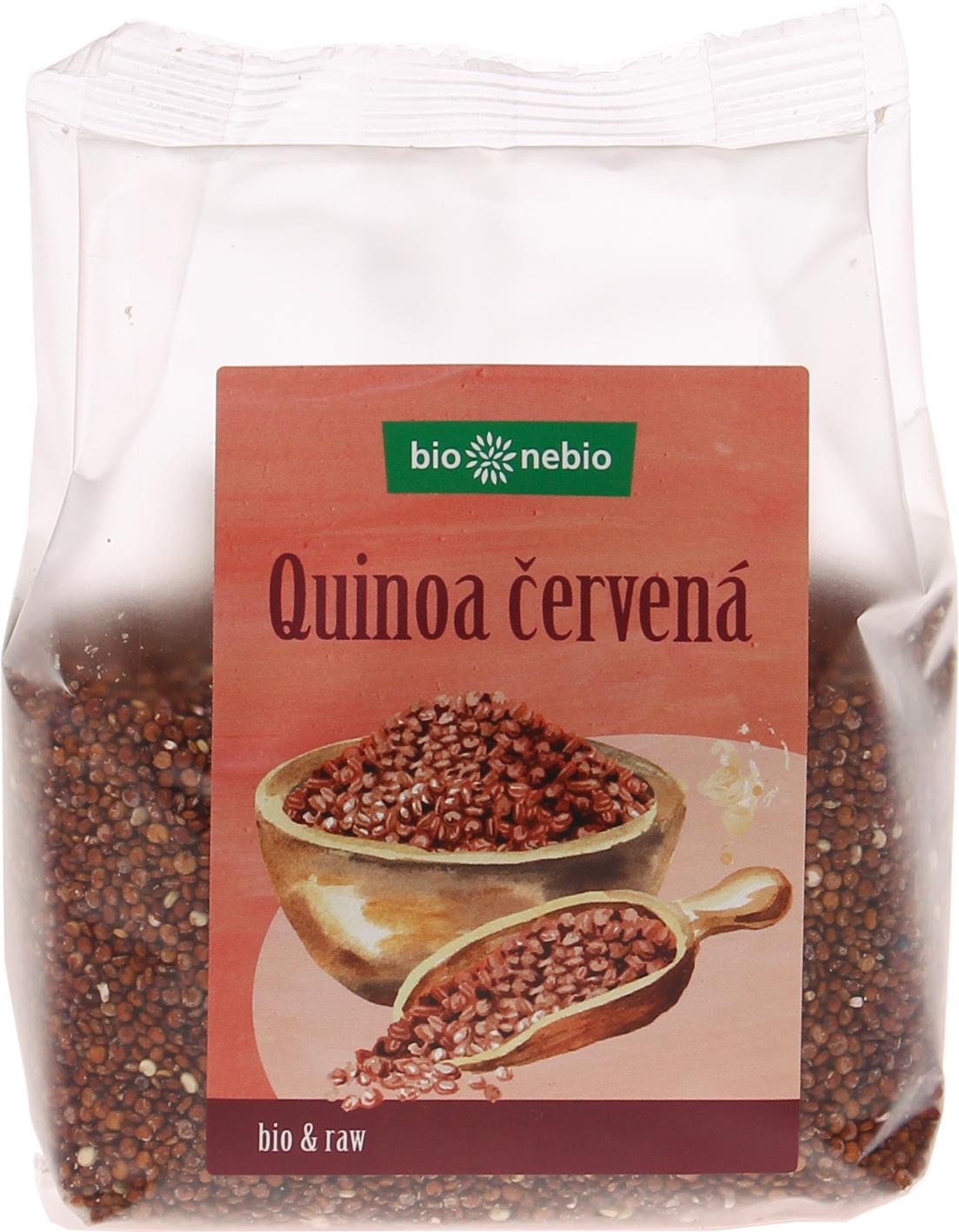 Bio quinoa červená bio*nebio 250 g