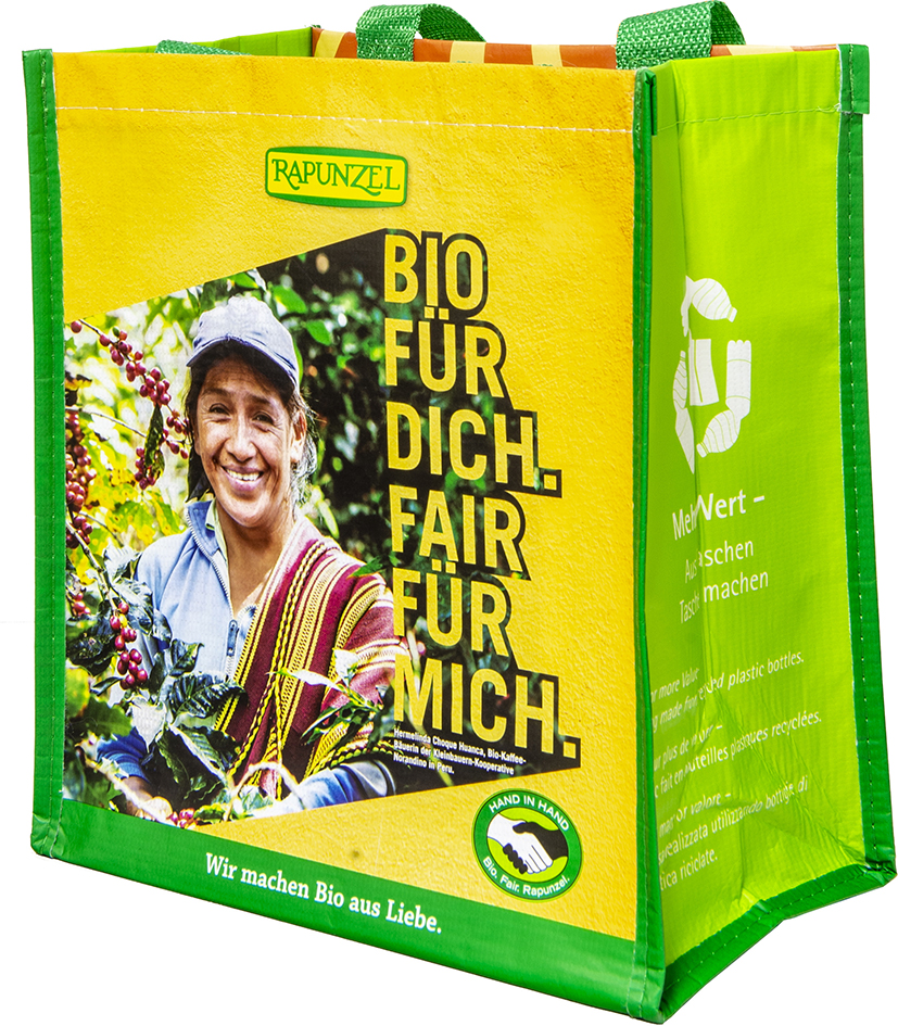 Taška pevná z recyklovaného PET malá RAPUNZEL