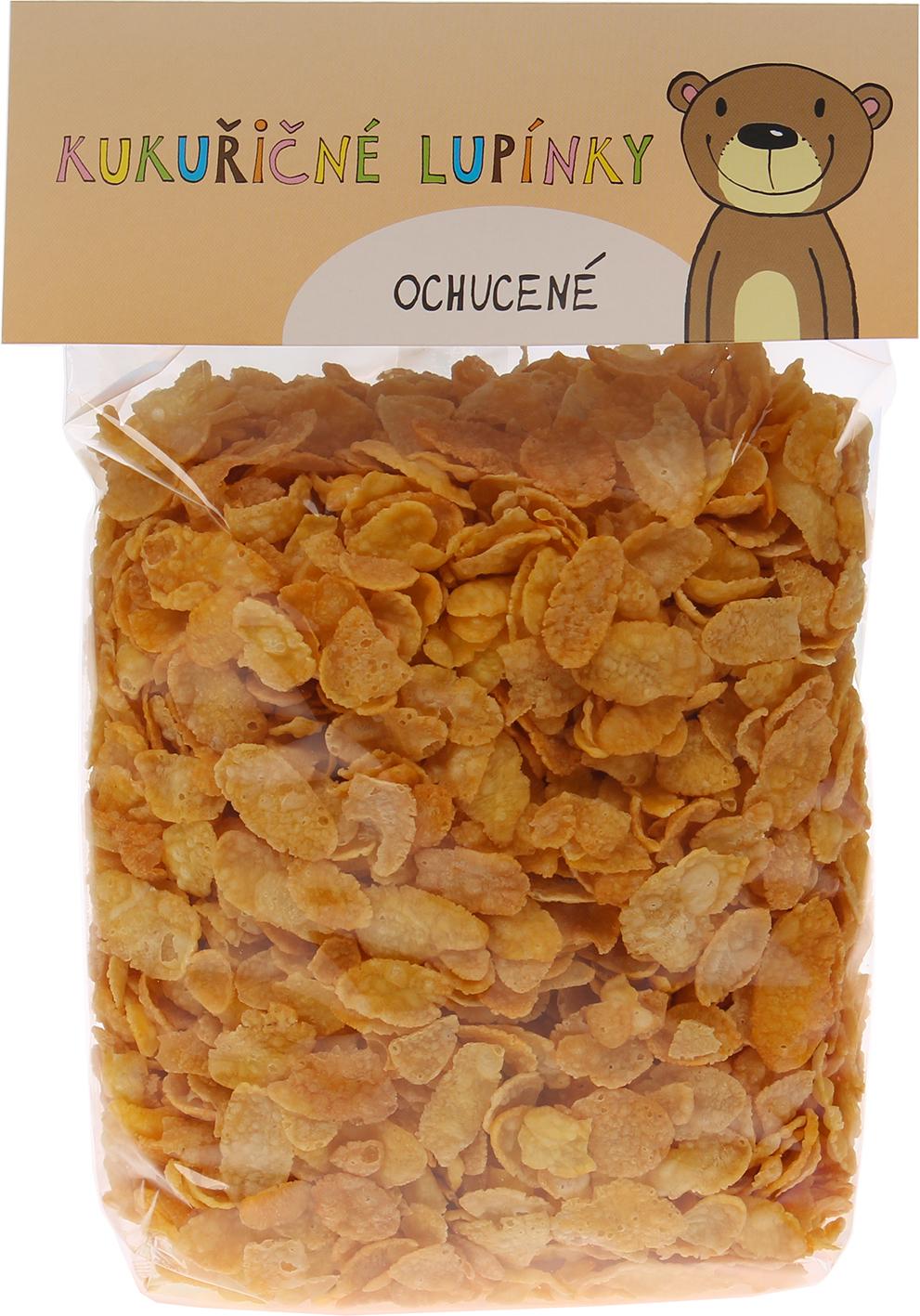Bio kukuřičné lupínky ochucené bio*nebio 250 g