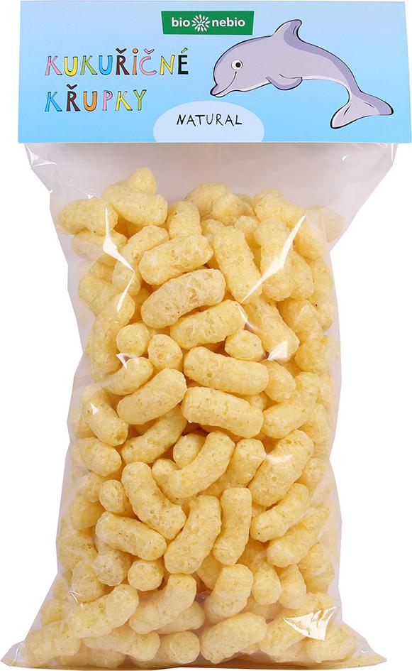 Bio kukuřičné křupky natural bio*nebio 100 g