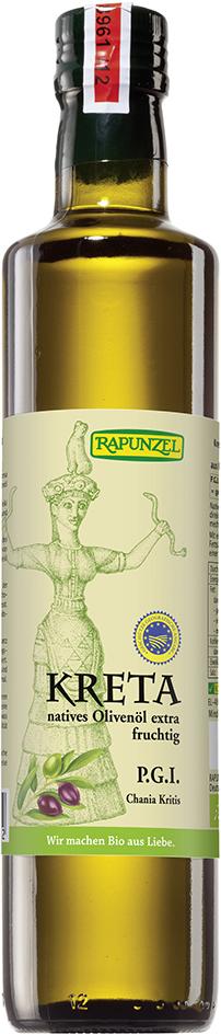 Bio krétský extra panenský olivový olej RAPUNZEL 500 ml
