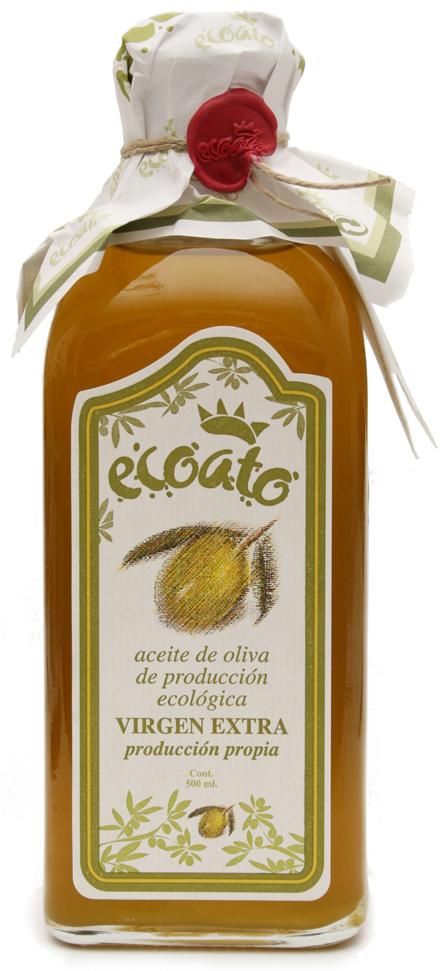 Bio extra panenský olivový olej ECOATO 500 ml