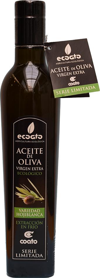 Bio extra panenský olivový olej Hojiblanca ECOATO 500 ml