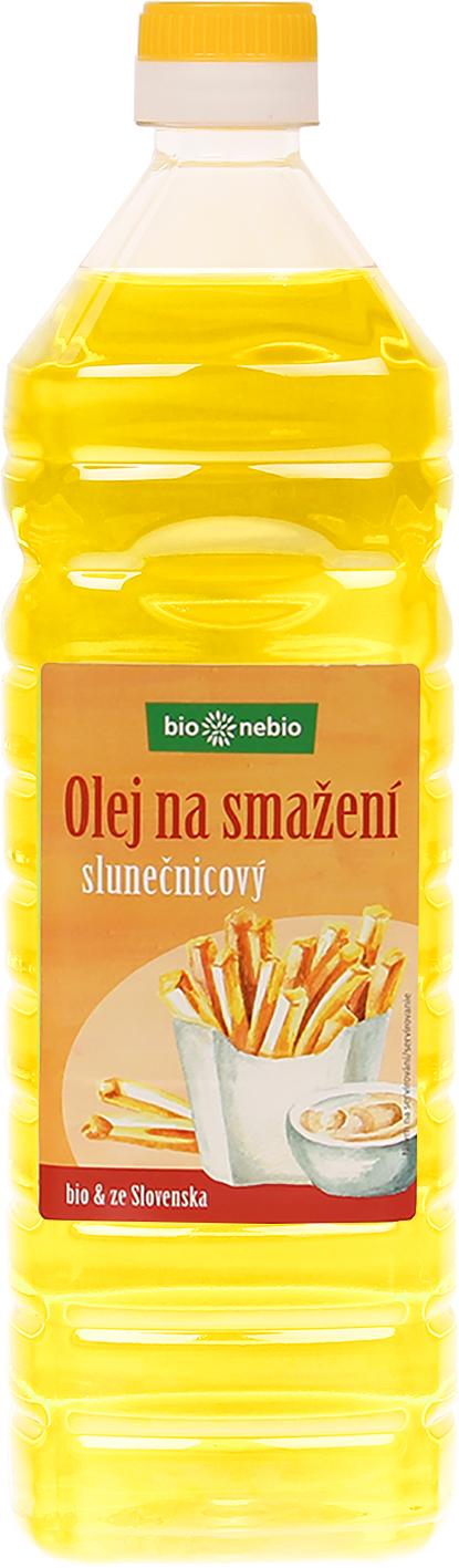 Bio olej na smažení bio*nebio 1 l
