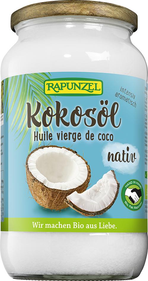 Bio kokosový olej lisovaný za studena RAPUNZEL 800 g