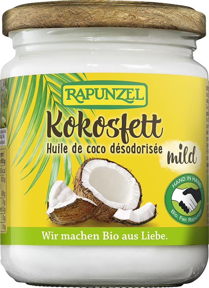 Bio kokosový tuk RAPUNZEL 200 g